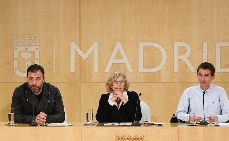 Carmena y su equipo han terminado su legislatura dejando el Ayuntamiento de Madrid con superávit