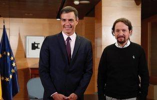"""Pablo Iglesias deja de pedir ministerios y anuncia: """"Habrá gobierno de cooperación"""""""
