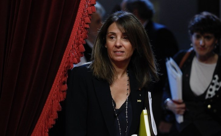 Meritxel Budó es la portavoz de Govern de la Generalitat de Cataluña
