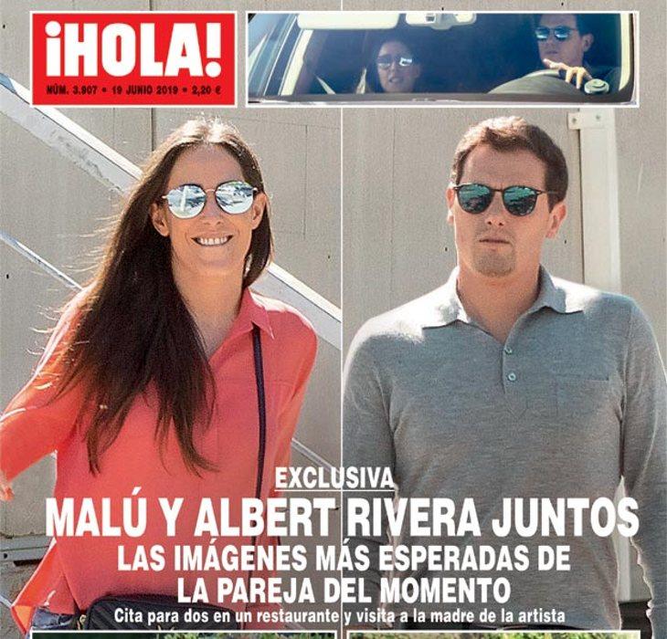 Albert Rivera y Malú, en la portada del ¡Hola!