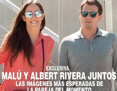 Albert Rivera y Malú, portada de una revista tras el pacto entre Ciudadanos y VOX