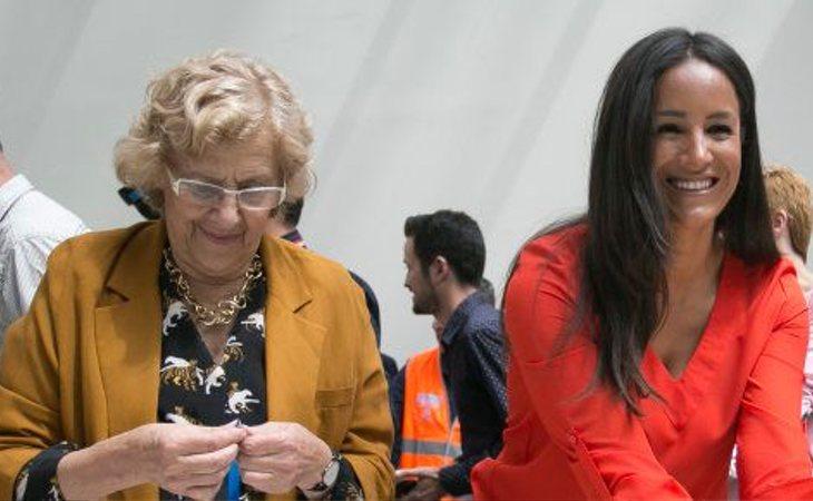 Manuela Carmena y Begoña Villacís, candidatas de Más Madrid y Ciudadanos por el Ayuntamiento de Madrid