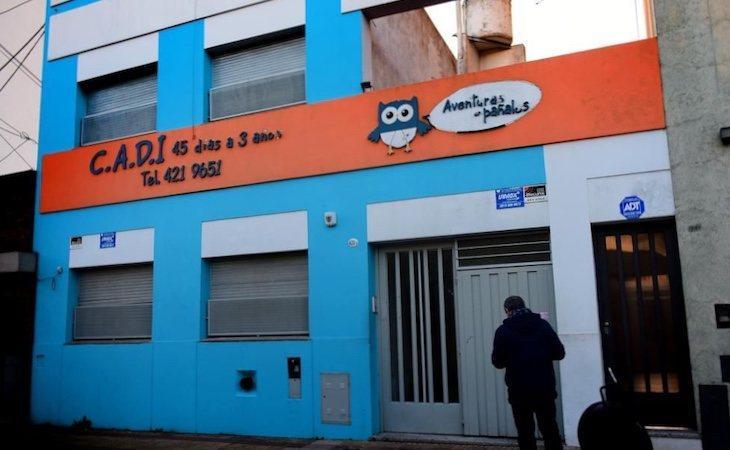 La guardería Aventuras en Pañales en La Plata en la que se produjo la agresión