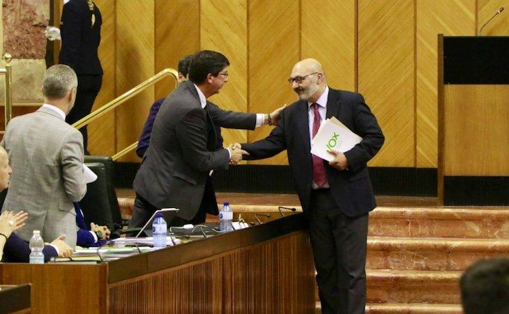 VOX, Ciudadanos y PP han llegado a un acuerdo para firmar los Presupuestos andaluces