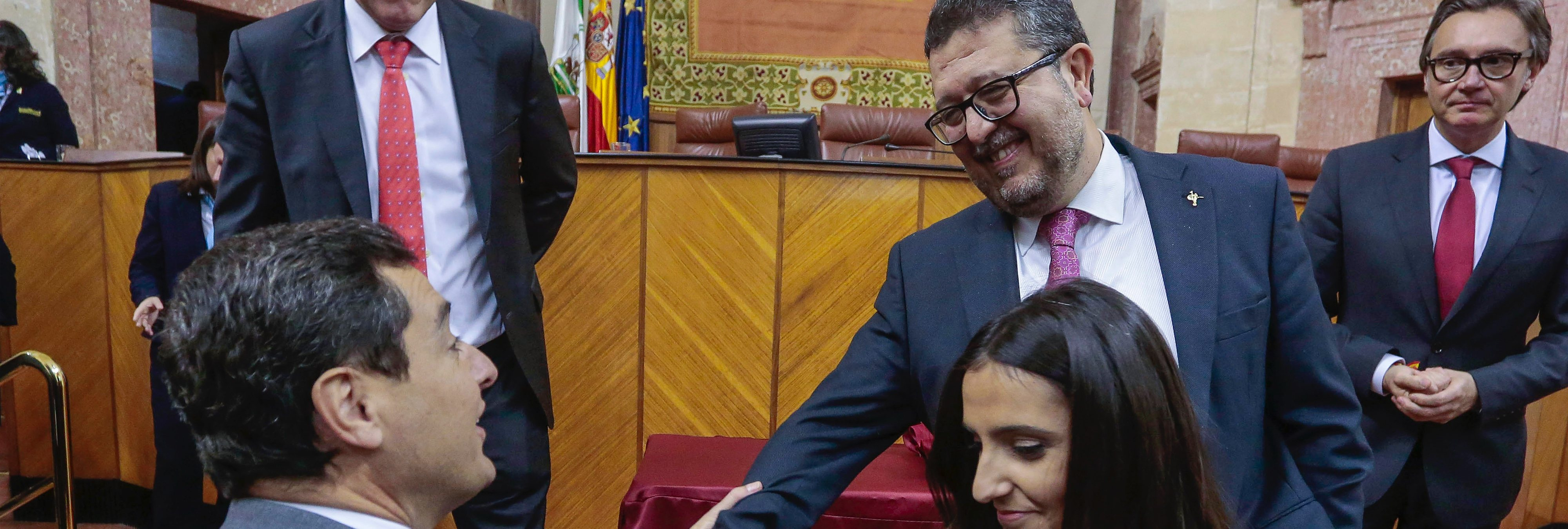 """""""Violencia intrafamiliar"""" e """"inmigración irregular"""": todas las cesiones a VOX en Andalucía"""