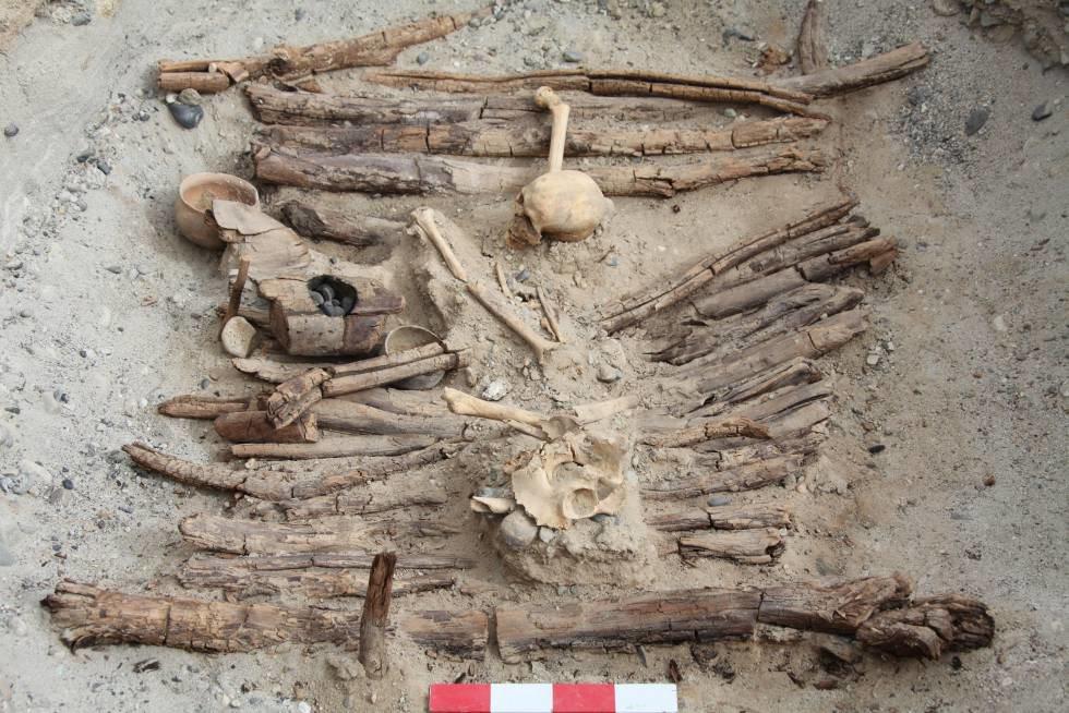 Los restos encontrados en China que evidencian el consumo de marihuana hace 2.500 años (Xinhua Wu)