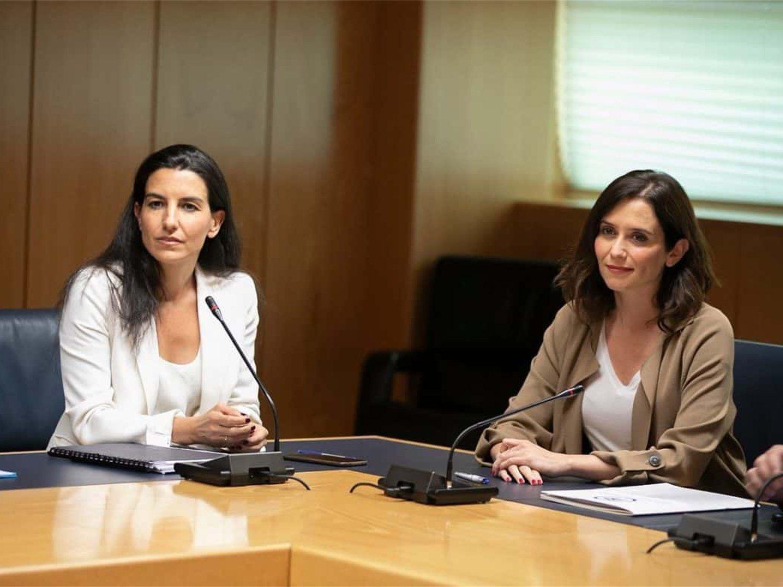 """El PP confirma que VOX controlará consejerías en Madrid: """"Se trabaja en esa línea"""""""