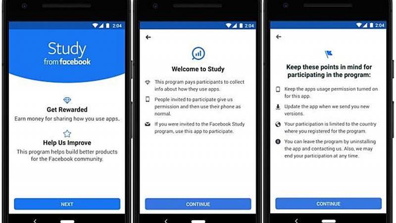 Así luce el prototipo inicial de 'Study From Facebok', el nuevo servicio de Facebook