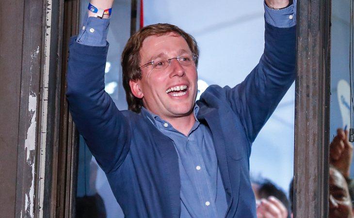 José Luís Martínez-Almeida, del PP, nuevo alcalde de Madrid