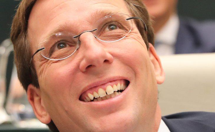 José Luís Martínez-Almeida (PP), nuevo alcalde de Madrid tras el pacto con Cs y VOX