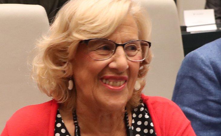 'Dejamos un Gobierno con una situación económica excelente', asegura Carmena en su despedida