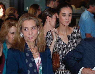 La infanta Elena y su hija Victoria Federica discuten a voces por un sujetador