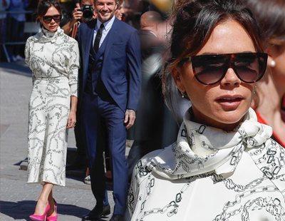 Victoria Beckham la lía al saltarse el protocolo en la boda de Sergio Ramos y Pilar Rubio