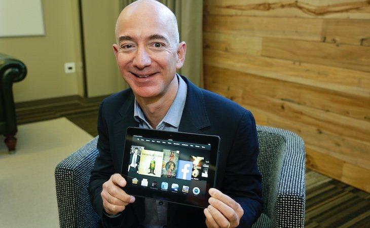 Jeff Bezos, el fundador de Amazon, es el hombre más rico del mundo