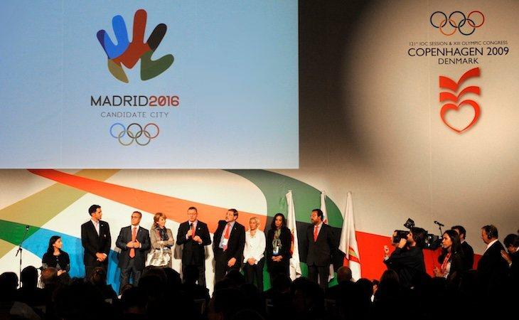 Ruiz-Gallardón presentó a Madrid como candidata olímpica en dos ocasiones