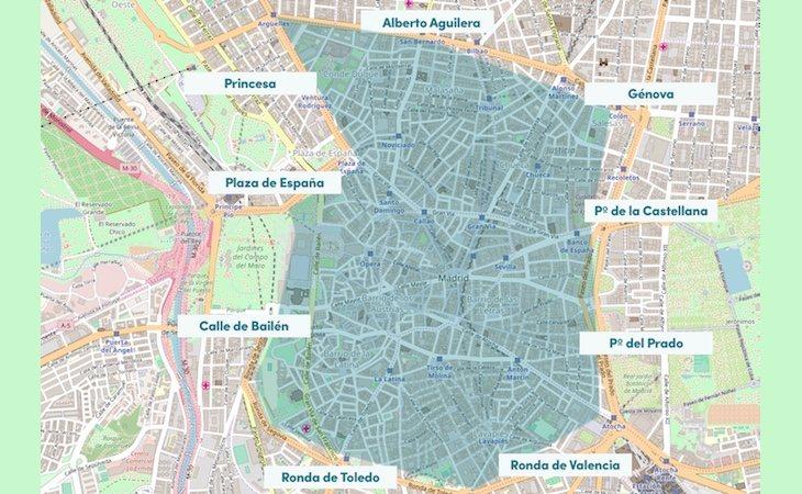 Madrid Central ha permitido reducir la contaminación en el centro de la capital