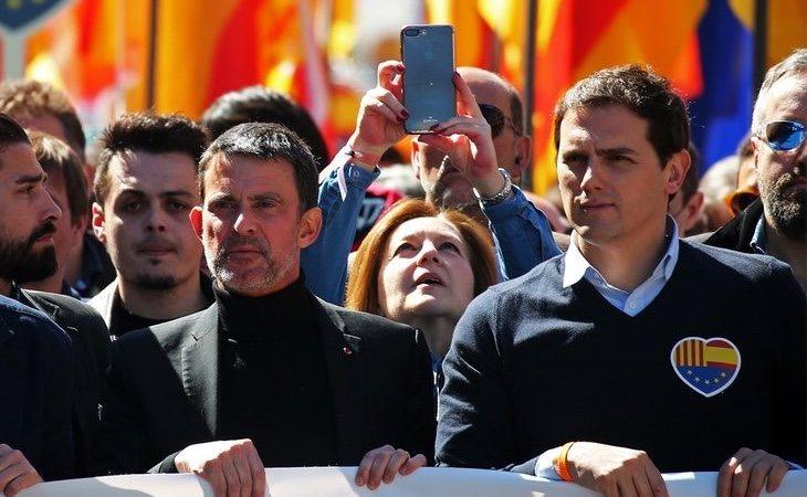 La relación entre Valls y Rivera se encuentra rota desde la manifestación de Colón