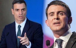 El plan de Valls: saltar a la política nacional de mano de Pedro Sánchez