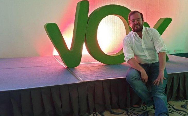 Ángel Bordas es candidato de VOX en Sevilla