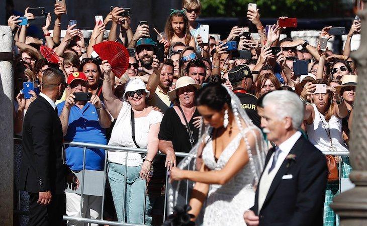 La boda de Pilar Rubio y Sergio Ramos se ha convertido en uno de los eventos más comentados del año