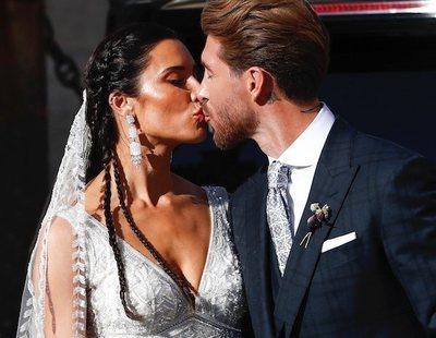 La otra versión de lo que pasó en la boda de Sergio Ramos y Pilar Rubio se hace viral