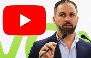 VOX denuncia el cierre de su canal de YouTube sin previo aviso