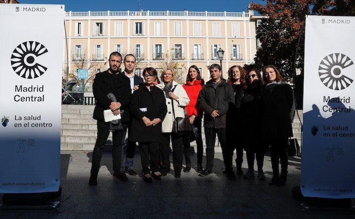 El Ejecutivo de Manuela Carmena puso en marcha Madrid Central