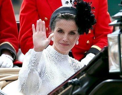 La reina Letizia, la peor valorada de la casa real por detrás del rey emérito