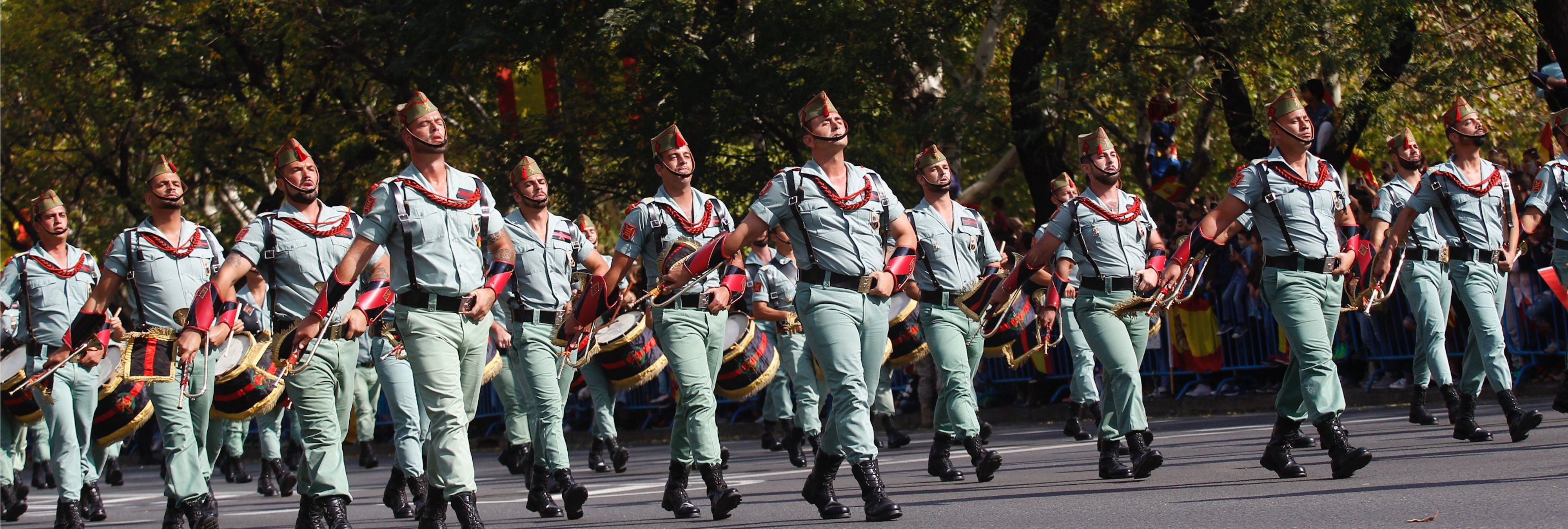 Japón flipa con la los músculos de la Legión española