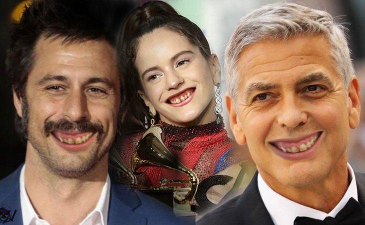 Hugo Silva, Rosalía y George Clooney, parodiados con los dientes de José Luis Martínez-Almeida
