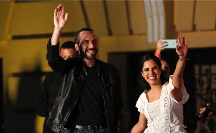 Nayib Bukele, 37 años, electo como presidente el 1 de junio de 2019, es el más jóven de toda América Latina