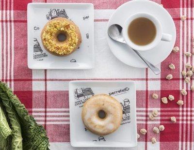 Lanzan el primer dónut con sabor a cocido en Madrid