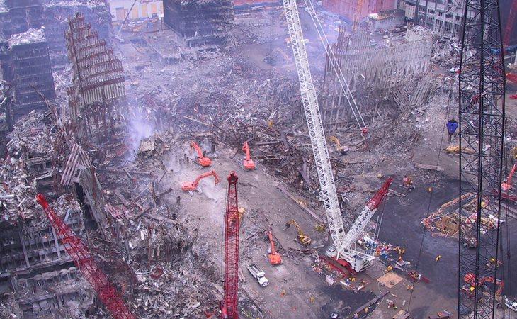 Así quedó la 'zona cero' después del atentado | Flickr: Jason Scott