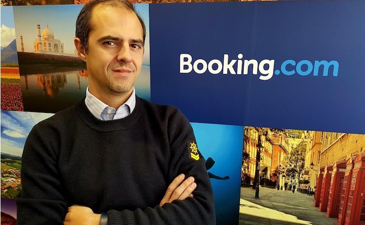 Koldo Sagastizábal es directivo de Booking.com