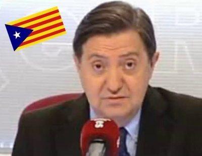 """Jiménez Losantos, sobre Barcelona: """"Si vuelvo será con la Guardia Civil, para ocuparla"""""""