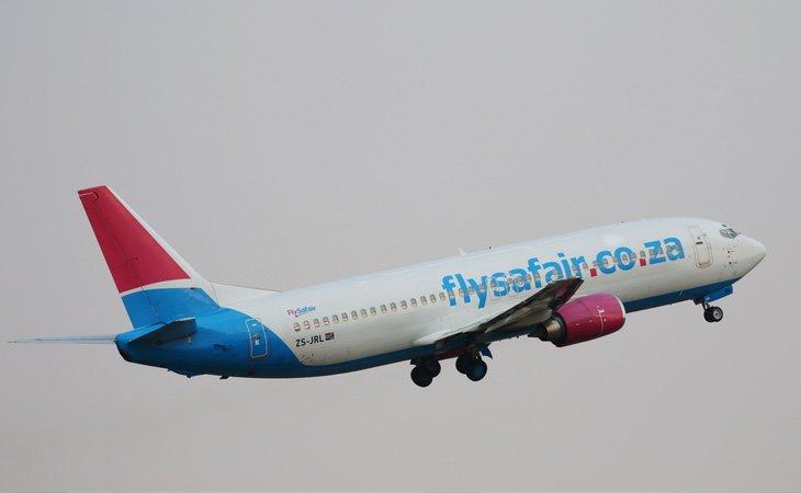Las autoridades se vieron obligadas a cancelar el vuelo de la compañía FlySafair tras el hallazgo