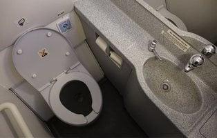 Encuentran un feto humano arrojado en el baño avión de Sudáfrica en el momento de despegar