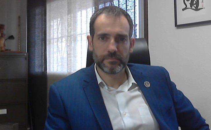 Juan José Liarte es el protavoz de VOX en la Asamblea Regional de Murcia