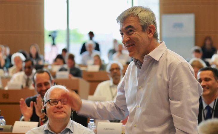 El líder de Ciudadanos en Europa, Luis Garicano, es uno de los principales críticos con la política de Rivera