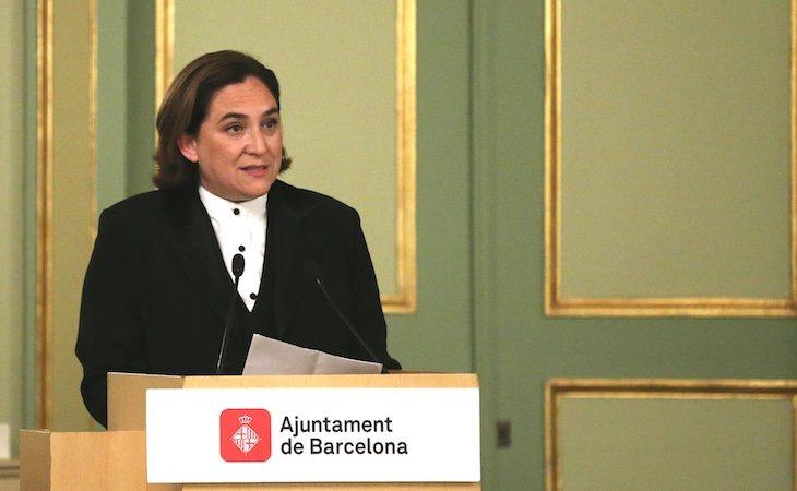 Ada Colau fue reelegida como alcaldesa de Barcelona tras una tensa investidura
