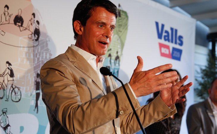 Manuel Valls apoyó la investidura de Ada Colau como alcaldesa de Barcelona
