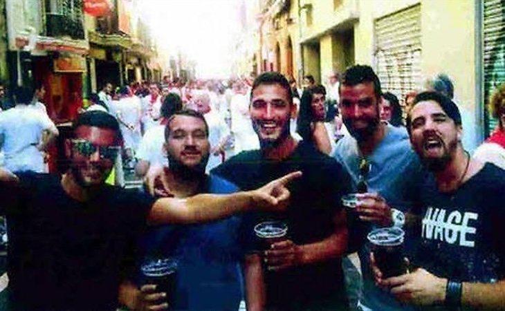 Los miembros de 'La Manada' han ingresado en la cárcel de Sevilla I