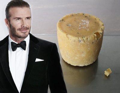 Fabrican un queso elaborado con piel muerta de David Beckham y otras celebridades