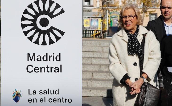 Manuela Carmena y su equipo pusieron en marcha Madrid Central