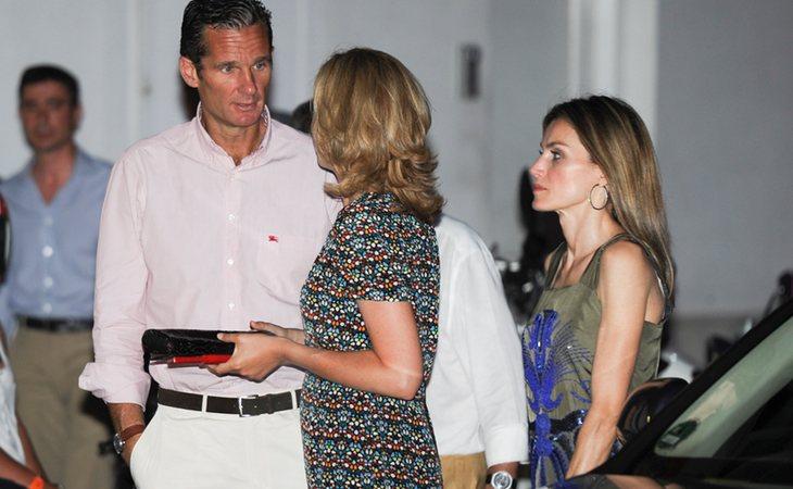 La distante relación entre Letizia y Cristina se agravó tras lo ocurrido con Urdangarín