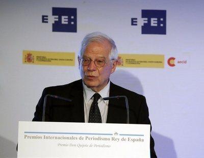 Borrell renuncia a su acta de eurodiputado para continuar como ministro de Exteriores