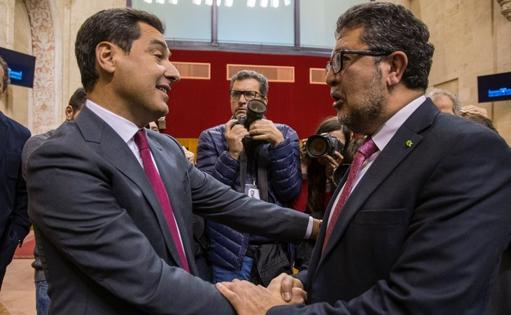 El diputado andaluz Francisco Serrano condenó la sentencia del Supremo, ante el caso de 'La Manada'