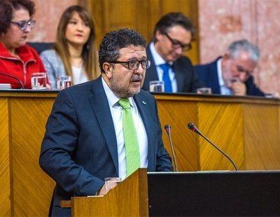 El líder de VOX en Andalucía pide la baja laboral tras la polémica de 'La Manada'