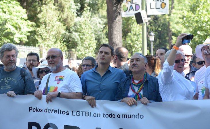 Ciudadanos no podrá participar de manera oficial en la marcha del Orgullo en Barcelona ni Madrid