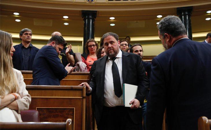 Oriol Junqueras, en prisión preventiva, a la espera de ser sentenciado por el Supremo por rebelión, malversación y sedición